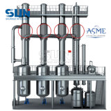 ASME Certificate Three Effect Falling Film Evaporator