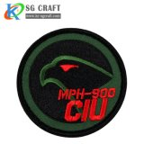 Wholesale Custom Cheap Fashion Police Uniform Woven Air Force Tactical Label Blank Flat/Textile/Embroidered/Embroidery Badge Patches for Clothing