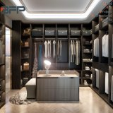 Luxury High-End Design Affordable Price Solid Wood Walk in Wardrobe
