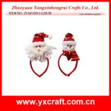 Christmas Decoration (ZY16Y229-1-2 25CM) Happy Santa Christmas Hanging Items