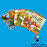 Good Quality Hardcover Text Book Printing (OEM-HC004)