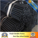 Black Annealed St37 Steel Tubes Steel for Beds