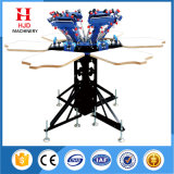 6 Color Manual Ratory Silk Screen Printing Machinery Price