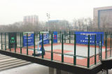 PE-Coated Chain Link Fence for Basketball Court