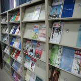 Magazine Bookshelf Against Wall Fashion Bookshelf