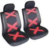 Universal Fit 4PCS Full Set PU&Leather Soft Car Seat Cover