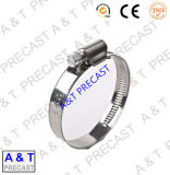 Heavy Duty American Type Hose Clamp Parts with High Quality