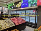 2 Meter Supermarket Multi-Deck Open Refrigerator Display Beverage/Fruit/Milk