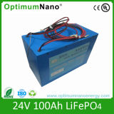 LiFePO4 Battery 24V 100ah for Solar Storage with PCM