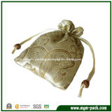 Golden Lovely Small Jewelry Bag with Pattern