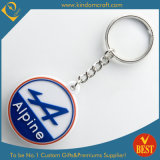 Wholesale Die Casting Customized Logo PVC Key Chain as Souvenir in High Quality