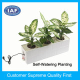 Factory Custom Self Watering Hydroponics Plastic Flower Pot