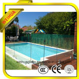 Hot Sale High Quality Tempered Glass Fence Panels with CE/CCC/ISO9001