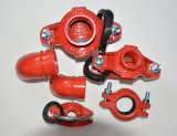 Ductile Iron Construction, Grooved Coupling and Fittings 1-1/4′′