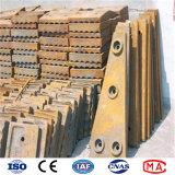 Sand Casting High Mn/Cr Alloy Steel Ball Mill/Grinder Liners
