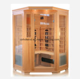 New 3 People Wooden Infrared Sauna Room Sauna Hot House