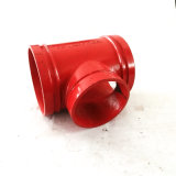 Pipe Fitting Ductile Iron Equal Tee for Iron Pipe