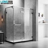 Stainless Steel Frame Glass with Hinge Shower Door Shower Room