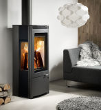 Low Emission Eco Design Wood Heater/Stove/Fireplace Made in China