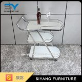 Stainless Steel Dining Trolley for Display