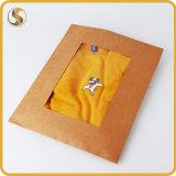 Kraft Paper Bag Custom Rope Clothing File Packaging Bag Custom A4 Envelope T-Shirt Underwear Shirt File Bag