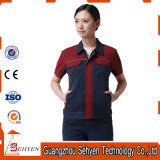 Summer Cotton Construction Worker Uniform for Work Wear