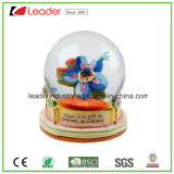 Water Globe Polyresin Snowglobe with Flowers for Promotional Gifts