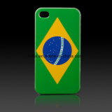 Brazilian Flag Hard Cover for iPhone Housing