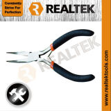 Mini Bent Nose Pliers with Bi-Color Dipped Handles