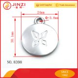 Hanging Chrome High Finishing Metal Logo Tag Pendant