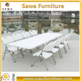 Wholesale High Quality 6FT&8FT Rectangle Blow Molding Plastic Tables Chairs