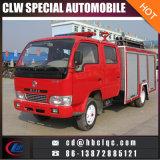 Factory Sales Price Myanmar 3t Water Fire Truck Powder Fire Truck