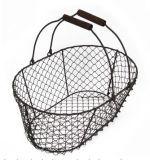Multifunctional Household Metal Basket with 2 Handles