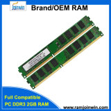 Full Compatible 1333MHz 8bits DDR3 Sdram PC3-10600 2GB