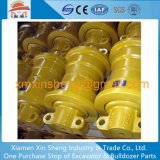 China Supplier Jcb Undercarriage Track Roller / Bottom Roller for Excavator Dozer Parts Machinery