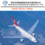 Air Cargo Shipment South Africa, St. Helena, Sudan (freight forwarder)