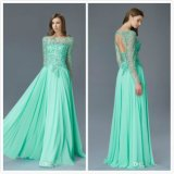 Plus Size Mother′s Gowns A-Line Mint Green Mother of Bride Dresses Z3039