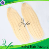 Top Quality Unprocessed Virgin Remy Hair Tape Human Hair Extension