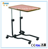 Moveable Over Bed Table for Hospital Bed