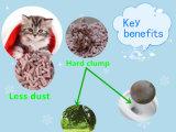 Peach Tofu Cat Litter with Hard Clump and Odor Control