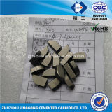 Hip Sintered Cemented Carbide Brazing Tips A320