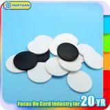 Tracking system 13.56MHz MIFARE Classic 1K RFID PVC disc tag