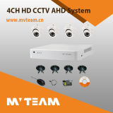 OEM Security CCTV Camera 4CH Ahd Security Camera System Dome Kit (MVT-KAH04D)