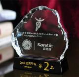 Crystal Iceberg Trophy with Custom Logo (KS04150)