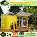 Camp Prefabricated Charity Action Container Home / House Temporary Office