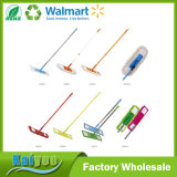 Cleaning Floor Flat Mop with Stainless Steel Handle and Mophead