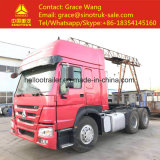 Used 371HP Sinotruk HOWO Truck Head of China Tractor Truck