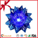 Hot Selling Elegant Handmade LED Star Poly Ribbon Bow