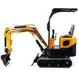 Ht10c 1 Ton Small Excavators for Sale New Chinese Mini Excavator Digging Machine Price