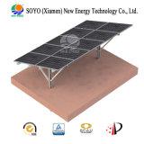 Solar Grounded Aluminum & Carbon Steel Single Pole Bracket